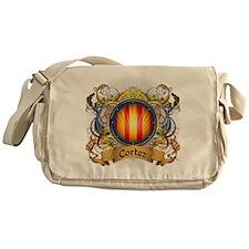 Cortez Family Crest Messenger Bag