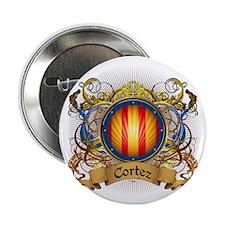 """Cortez Family Crest 2.25"""" Button"""