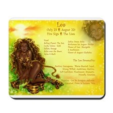 Goddess Leo Mousepad