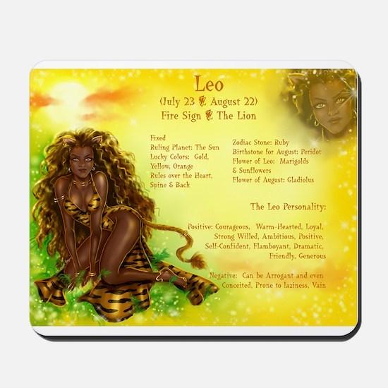 Goddess Leo Mousepad