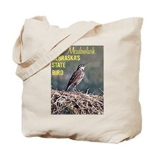Meadowlark Bird Tote Bag
