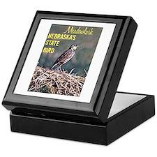 Meadowlark Bird Keepsake Box