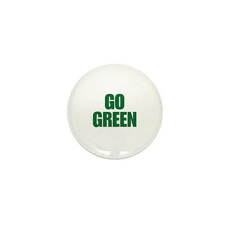 Go Green Mini Button