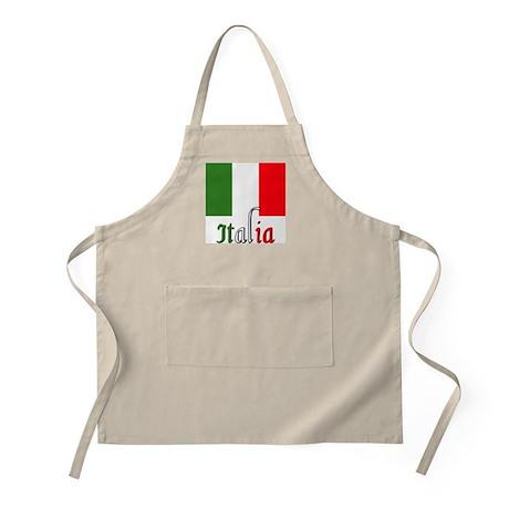 Italia Italian Italy BBQ Apron