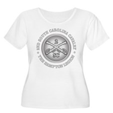 2nd South Carolina Cavalry Plus Size T-Shirt