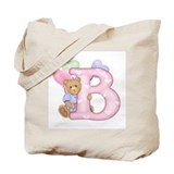 Baby girl totes Canvas Bags