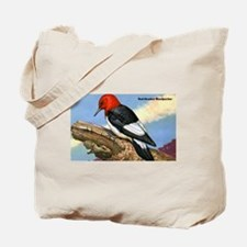 Red-Headed Woodpecker Bird Tote Bag