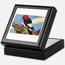 Red-Headed Woodpecker Bird Keepsake Box
