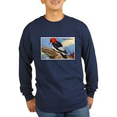 Red-Headed Woodpecker Bird (Front) T
