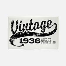 Vintage 1936 Rectangle Magnet