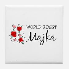 WB Mom [Serbian] Tile Coaster