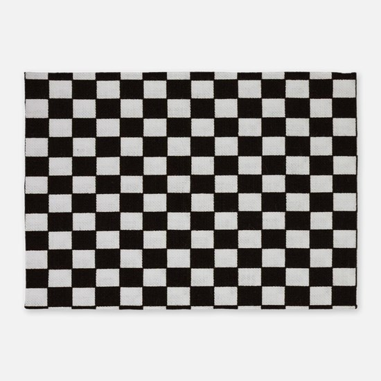 Black And White Checkered Rugs, Black And White Checkered