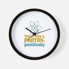 Proton Positively Wall Clock