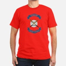 Wmm Softball Men Dark Men's Fitted T-Shirt (Dark)