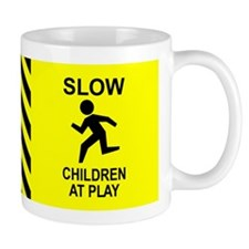 """Slow Children"" Mug"
