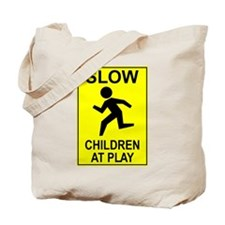 """Slow Children"" Tote Bag"
