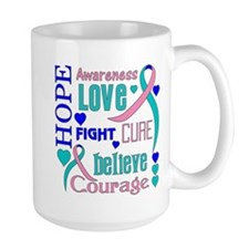 Thyroid Cancer Hope Mug