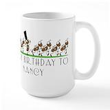 Marching ants Large Mugs (15 oz)