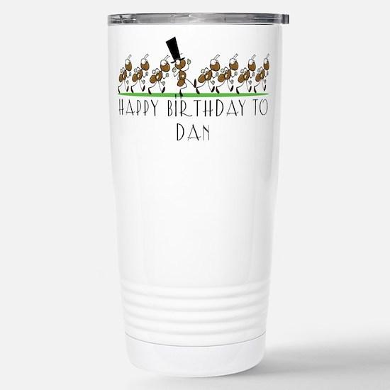 Happy Birthday Dan (ants) Mugs