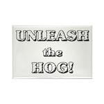 Unleash The Hog Rectangle Magnet (100 pack)