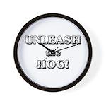 Unleash The Hog Wall Clock
