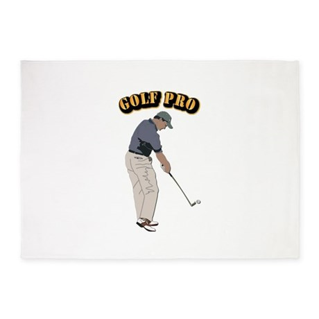 Golf Pro 5'x7'Area Rug