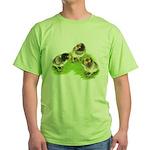 Brown Brabanter Chicks Green T-Shirt