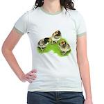 Brown Brabanter Chicks Jr. Ringer T-Shirt