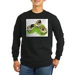 Brown Brabanter Chicks Long Sleeve Dark T-Shirt