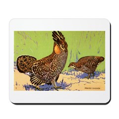 Prairie Chicken Bird Mousepad