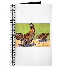 Prairie Chicken Bird Journal