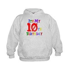 10th Birthday Hoodie