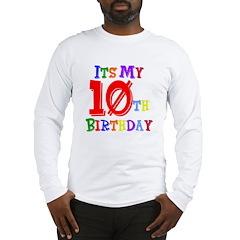 10th Birthday Long Sleeve T-Shirt