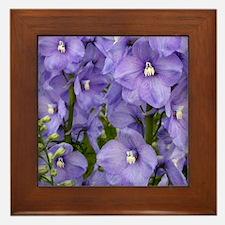 Purple Glory Framed Tile