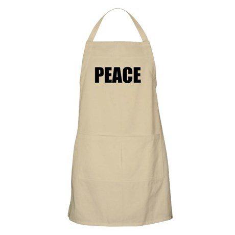 Be Bold PEACE BBQ Apron