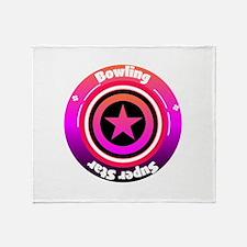Bowling Super Star Throw Blanket