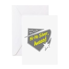 Hi-Hi Silver/The Lone Ranger Greeting Cards