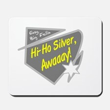 Hi-Hi Silver/The Lone Ranger Mousepad