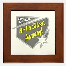 Hi-Hi Silver/The Lone Ranger Framed Tile