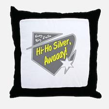 Hi-Hi Silver/The Lone Ranger Throw Pillow