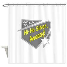 Hi-Hi Silver/The Lone Ranger Shower Curtain