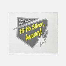 Hi-Hi Silver/The Lone Ranger Throw Blanket
