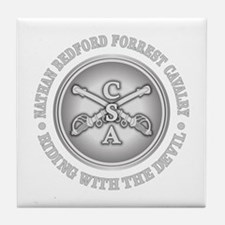 NB Forrest Cavalry Corp Tile Coaster