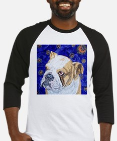 Starry Night Bulldog Baseball Jersey