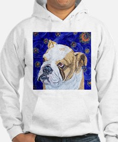 Starry Night Bulldog Hoodie