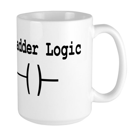Long Live Ladder Logic Large Mug