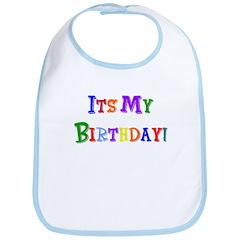 It's My Birthday (Multi) Bib