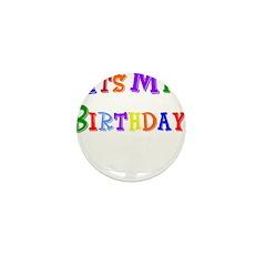 It's My Birthday (Multi) Mini Button (10 pack)
