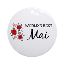 WB Mom [Punjabi] Ornament (Round)