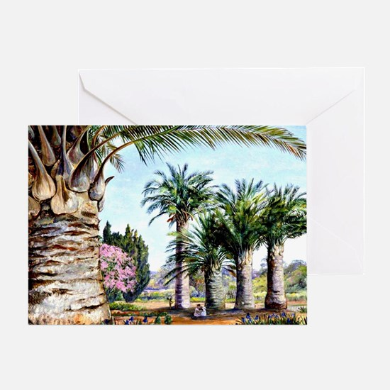 Specimens of the Coquito Palm of Chi Greeting Card